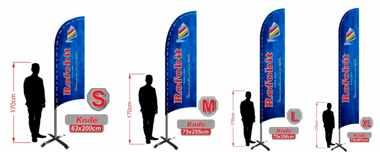 beachflags knife shape